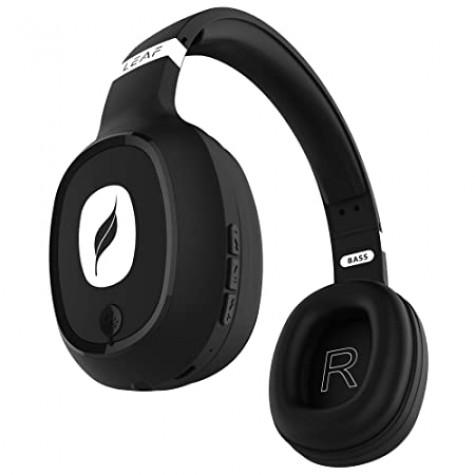 Leaf Bass Wireless Bluetooth Headphones with Hi-Fi Mic
