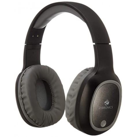 ZebronicsZeb-Thunder Wireless BT Headphone with Built-in FM