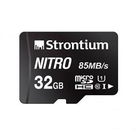 Strontium Nitro 32GB Micro SDHC Memory Card